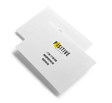 Дизайн и изготовление визиток
