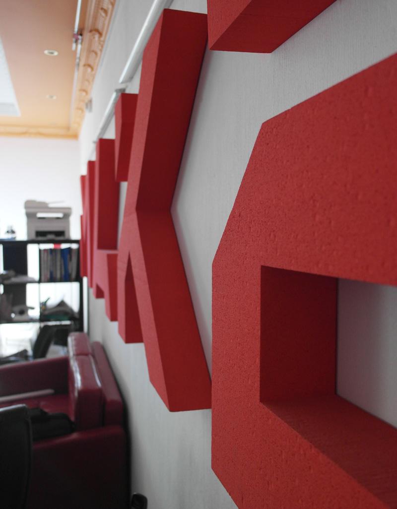 Объемные буквы для офиса