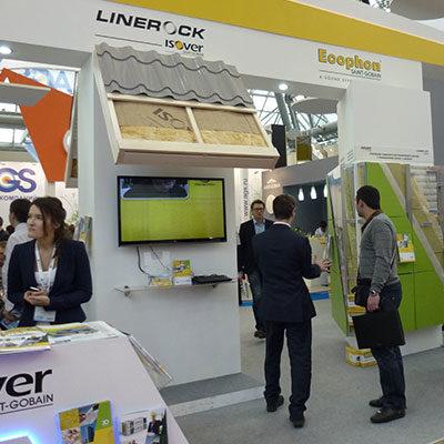 Выставочный стенд Linerock ISOVER