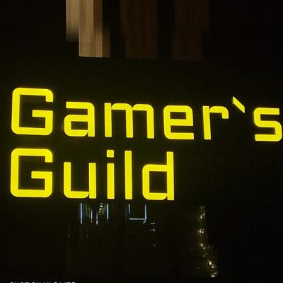Вывеска Gamer`s Guild
